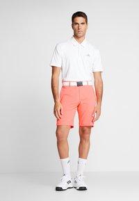 adidas Golf - COLLECTION DOBBY - Sportovní kraťasy - signal coral - 1