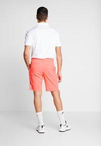 adidas Golf - COLLECTION DOBBY - Sportovní kraťasy - signal coral - 2
