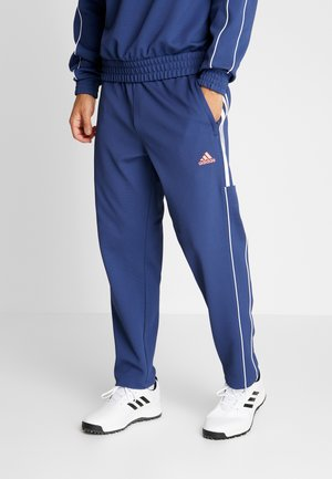 STRIPE COLLECTION DOBBY PANT - Tracksuit bottoms - tech indigo
