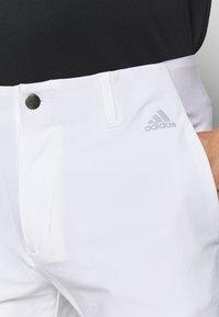 adidas Golf - ULTIMATE TAPERED PANT - Kangashousut - white - 3
