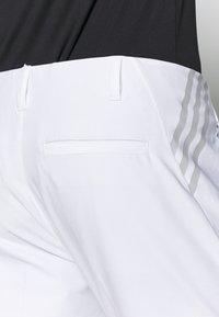 adidas Golf - ULTIMATE TAPERED PANT - Kangashousut - white - 5