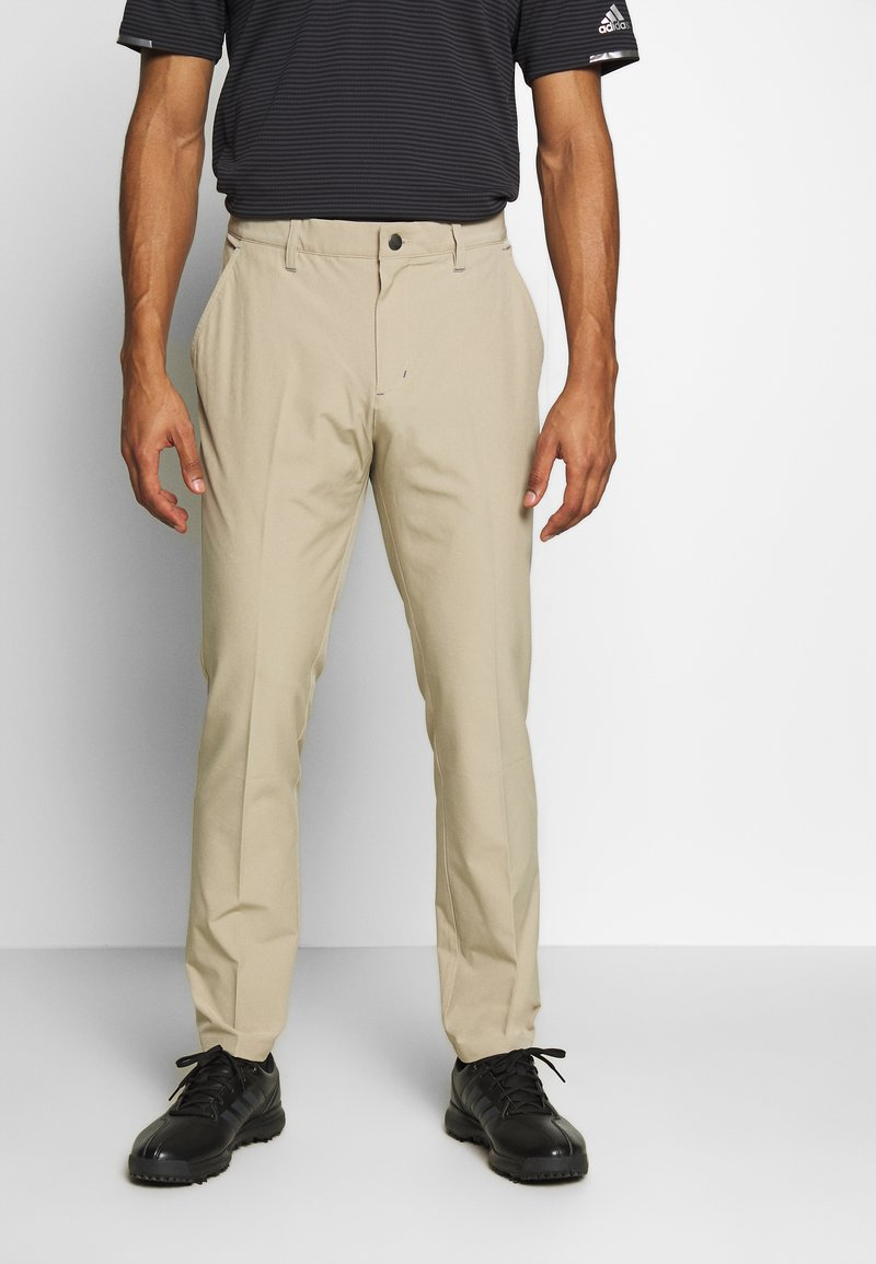 adidas Golf - ULTIMATE TAPERED PANT - Kalhoty - raw gold