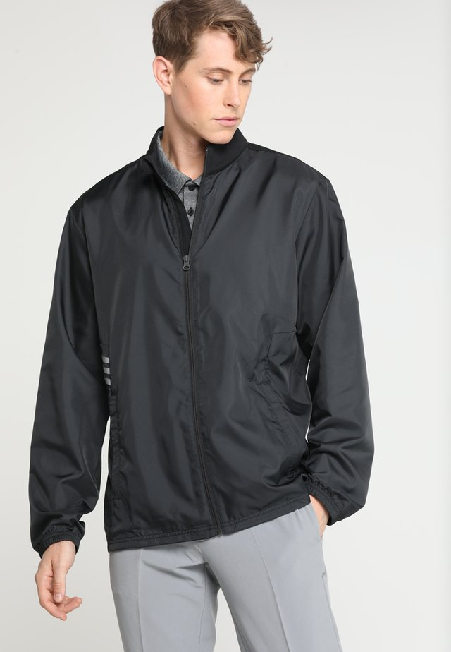 ADIDAS ESSENTIALS WIND JACKET FULL ZIP - Trainingsjacke - black
