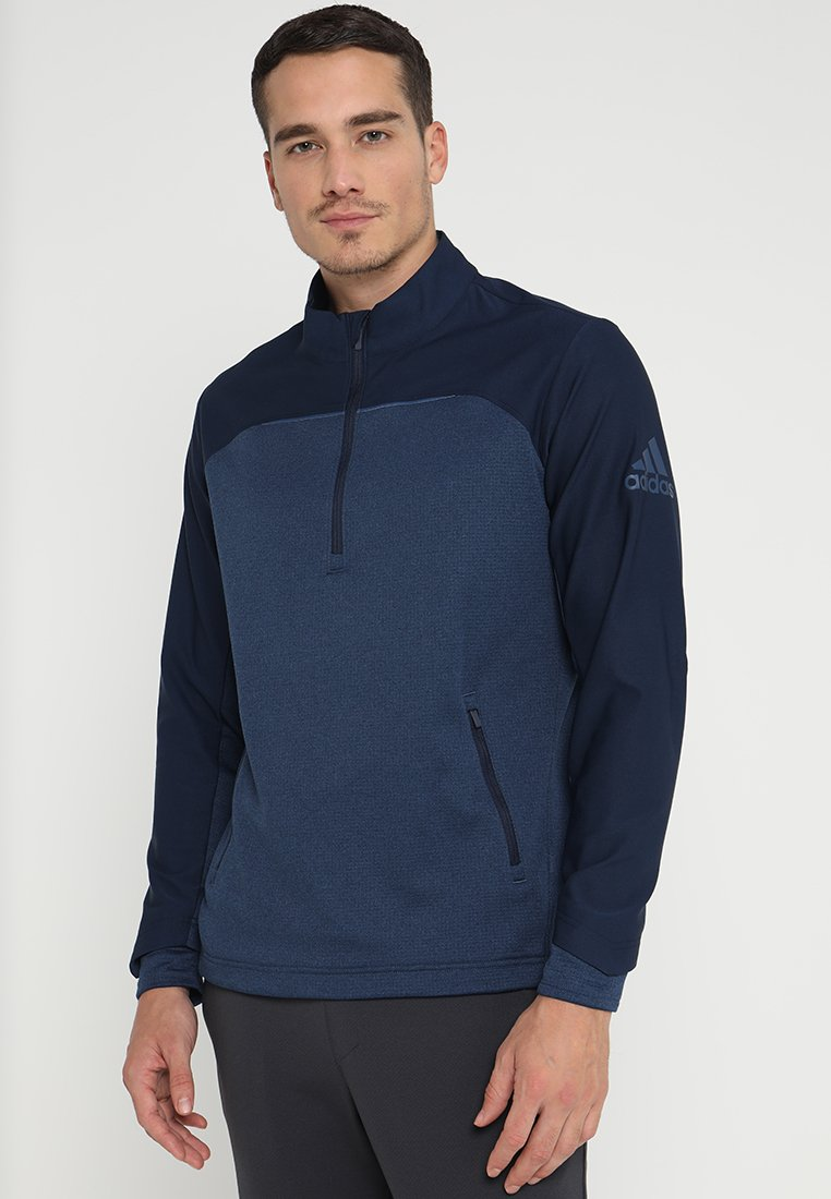 adidas Golf - GO TO ZIP JACKET - Fleece jumper - collegiate navy