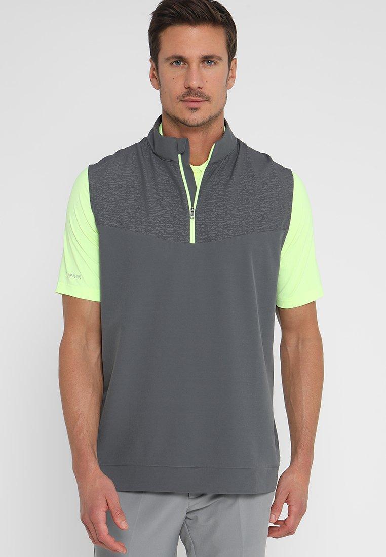 adidas Golf - CAMO PRINT WIND VEST - Weste - grey