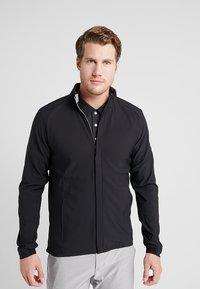 adidas Golf - JACKET - Softshelljacke - black - 0
