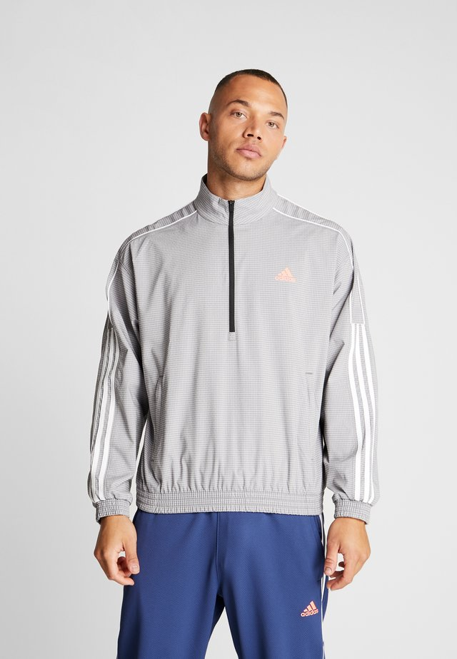 3 STRIPE COLLECTION JACKET - Trainingsjacke - grey melange