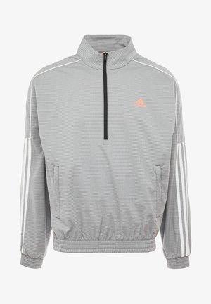 3 STRIPE COLLECTION JACKET - Sportovní bunda - grey melange