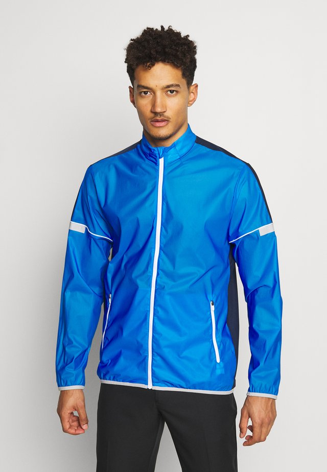 SPORT HYBRID - Trainingsjacke - glory blue/white