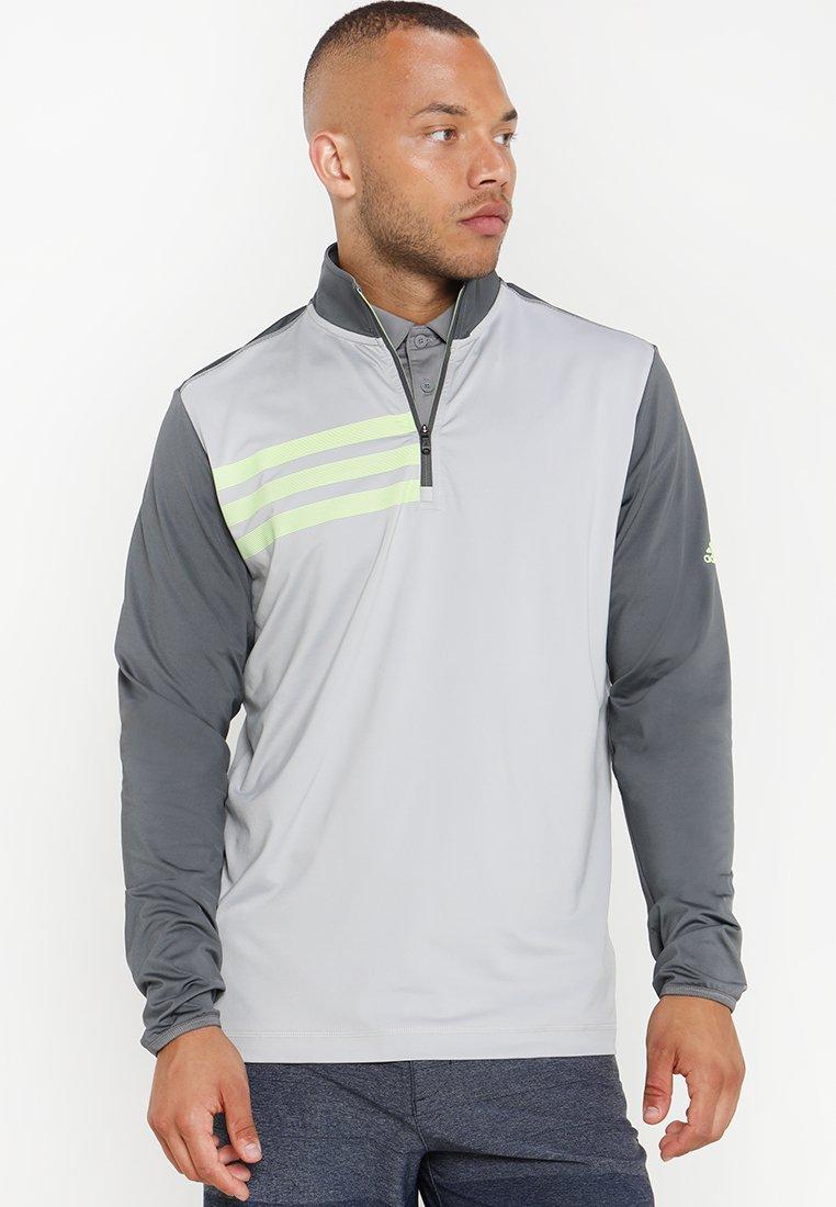adidas Golf - 3 STRIPES COMPETITION 1/4 ZIP - Långärmad tröja - grey five