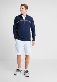adidas Golf - GO TO JACKET - Sweatshirt - navy - 1