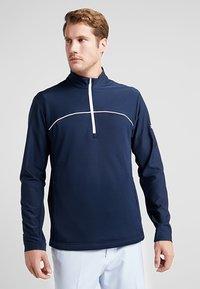 adidas Golf - GO TO JACKET - Sweatshirt - navy - 0