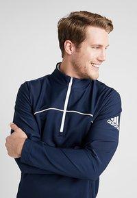 adidas Golf - GO TO JACKET - Sweatshirt - navy - 3