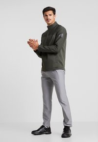 adidas Golf - GO TO JACKET - Sweatshirts - legend earth - 1
