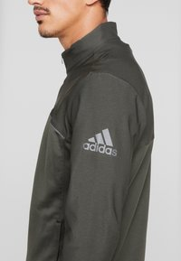 adidas Golf - GO TO JACKET - Sweatshirts - legend earth - 4