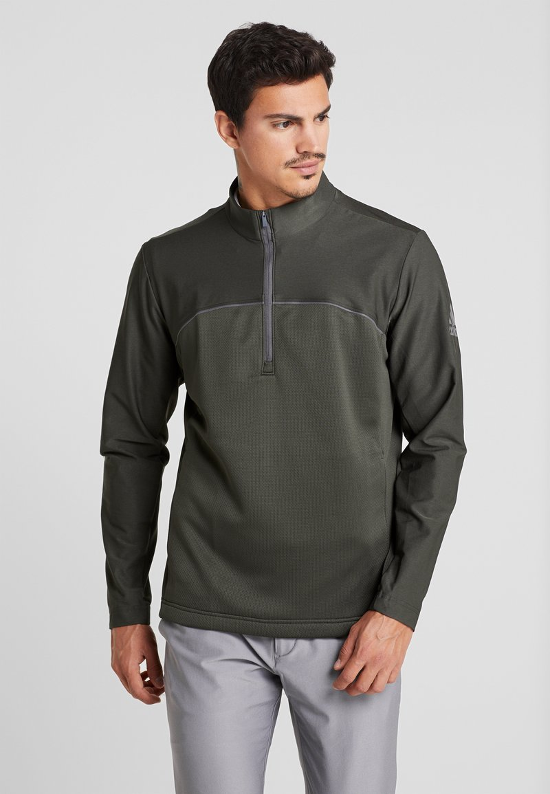 adidas Golf - GO TO JACKET - Sweatshirt - legend earth
