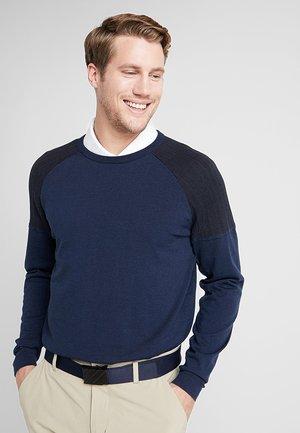 Stickad tröja - collegiate navy