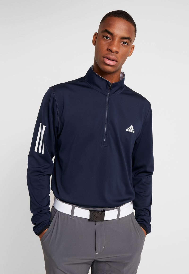 adidas Golf - Longsleeve - collegiate navy/grey three