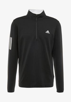 Top sdlouhým rukávem - black/grey