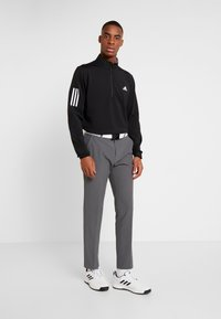 adidas Golf - Langærmede T-shirts - black/grey - 1