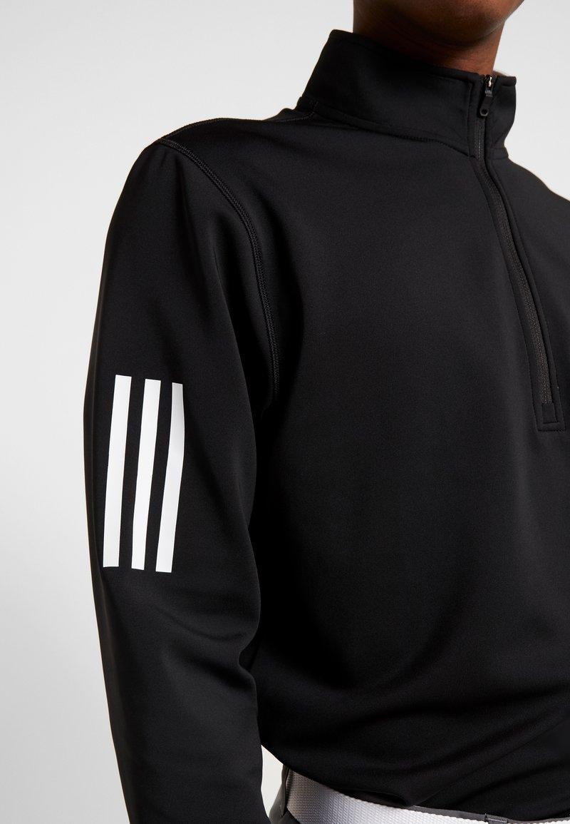 adidas Golf Topper langermet - black/grey