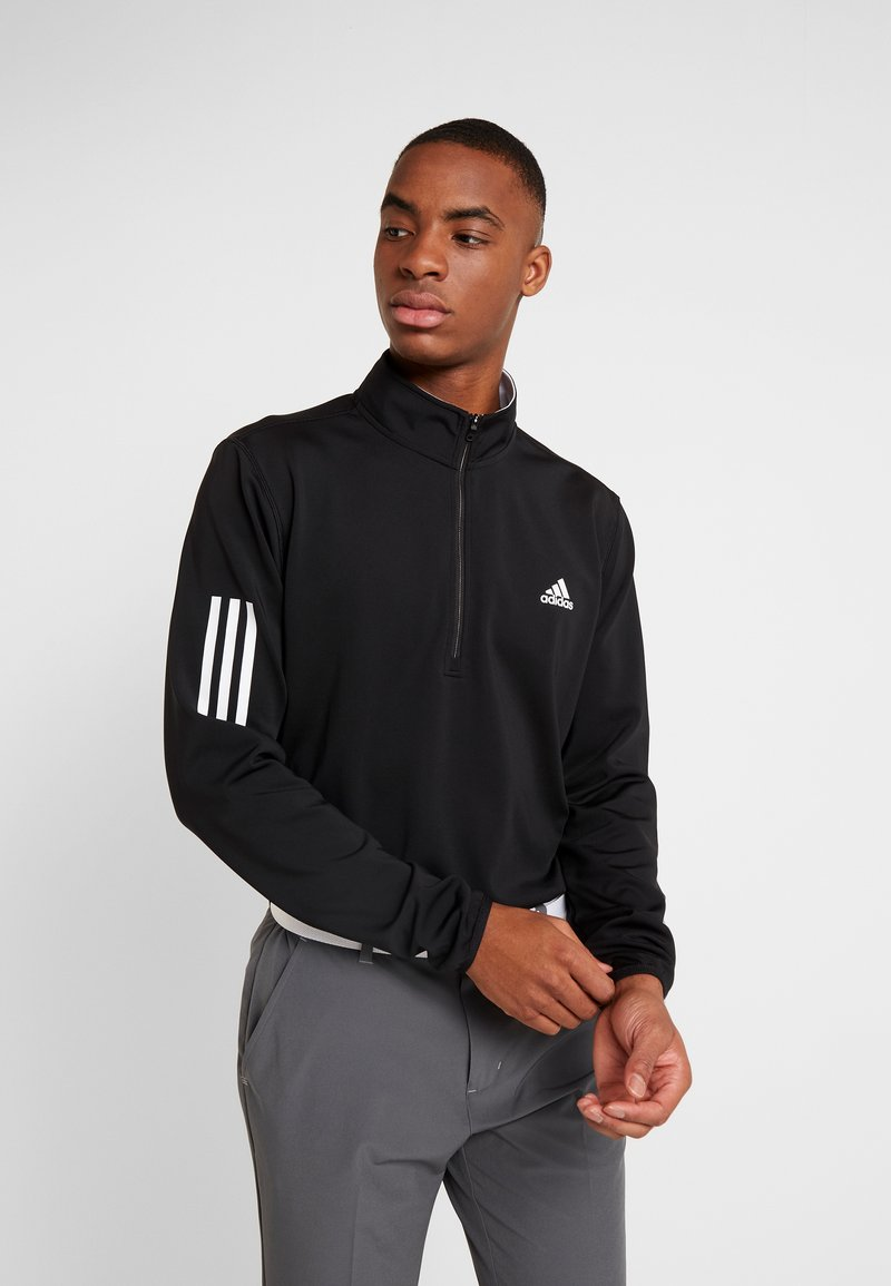 adidas Golf - Langærmede T-shirts - black/grey