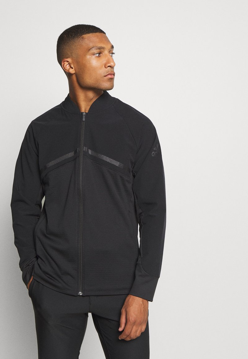 adidas Golf - HYBRID ZIP - Sportovní bunda - black