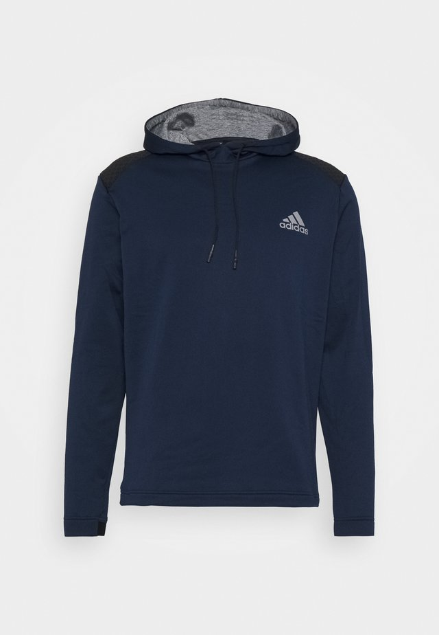 COLD.RDY SPORTS GOLF HOODED  - Stickad tröja - collegiate navy