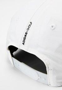 adidas Golf - BADGE OF SPORT HEATHER - Cap - white - 4