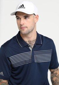 adidas Golf - BADGE OF SPORT HEATHER - Cap - white - 1