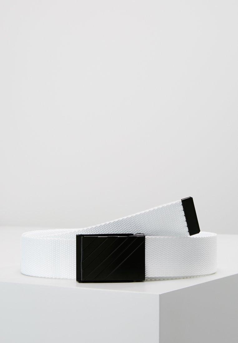 adidas Golf - WEBBING BELT - Bælter - white
