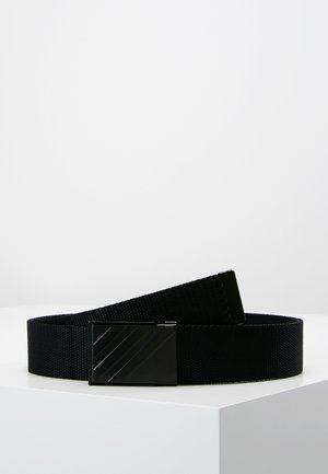 WEBBING BELT - Ceinture - black