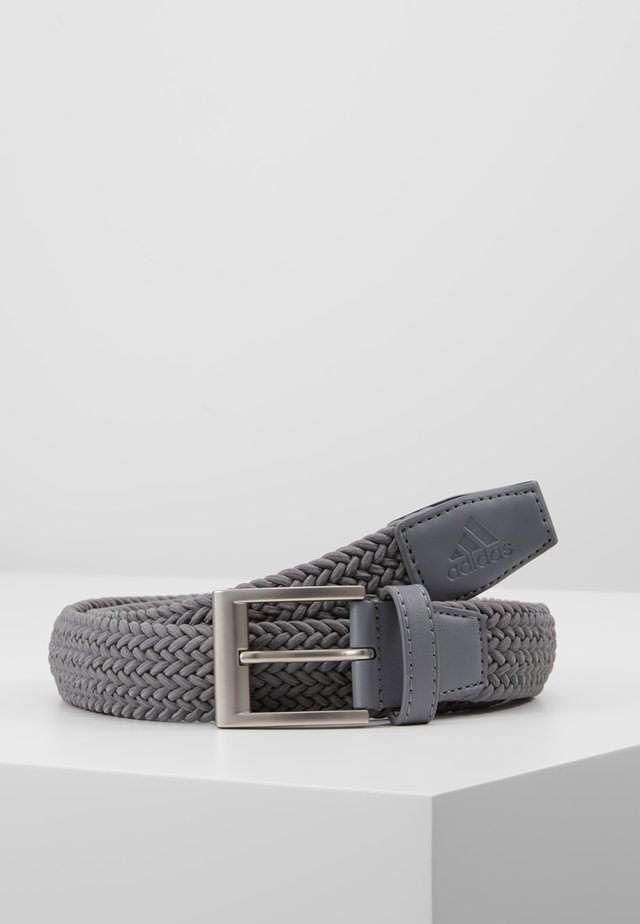 BRAIDED STRETCH BELT - Pásek - grey three