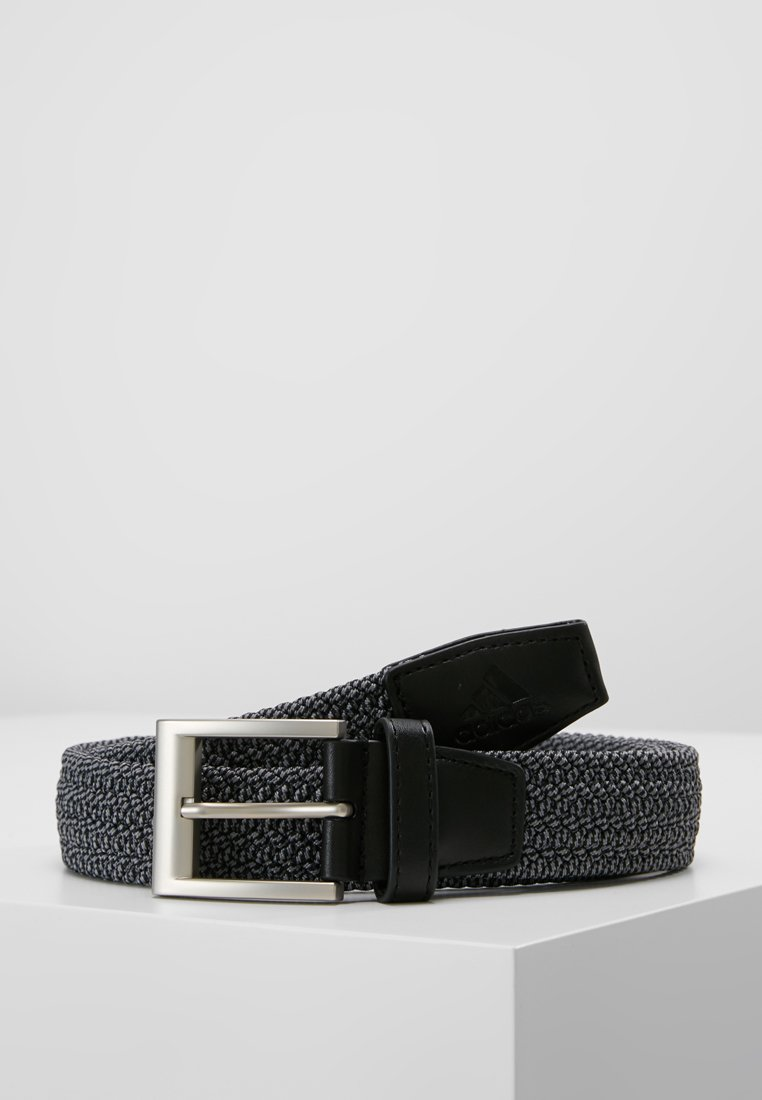 adidas Golf - BRAIDED STRETCH BELT - Riem - black