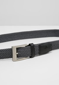 adidas Golf - BRAIDED STRETCH BELT - Riem - black - 4