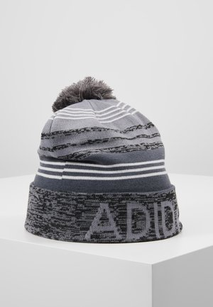 POM BEANIE - Gorro - black heather