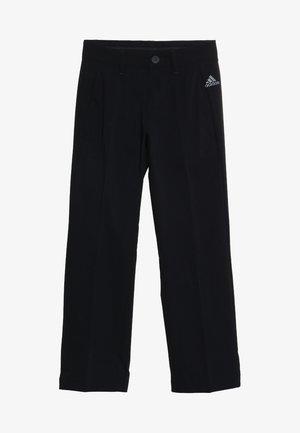 SOLID PANT - Kalhoty - black