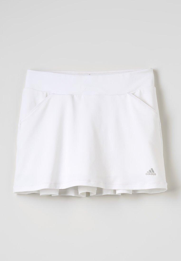 adidas Golf - PLEAT - Minirok - white
