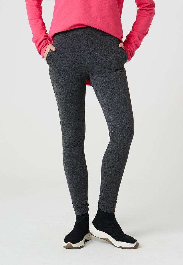 PANTALONS DE LOISIRS - Leggings - Trousers - gris foncé mélangé