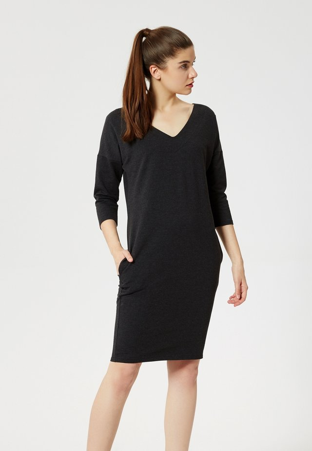 ROBE - Jersey dress - black
