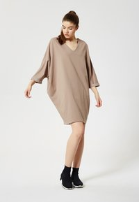 Talence - ROBE - Jersey dress - cappuccino - 1