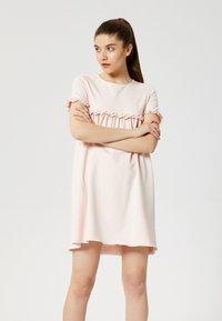 Talence - Jersey dress - rose pouding - 1