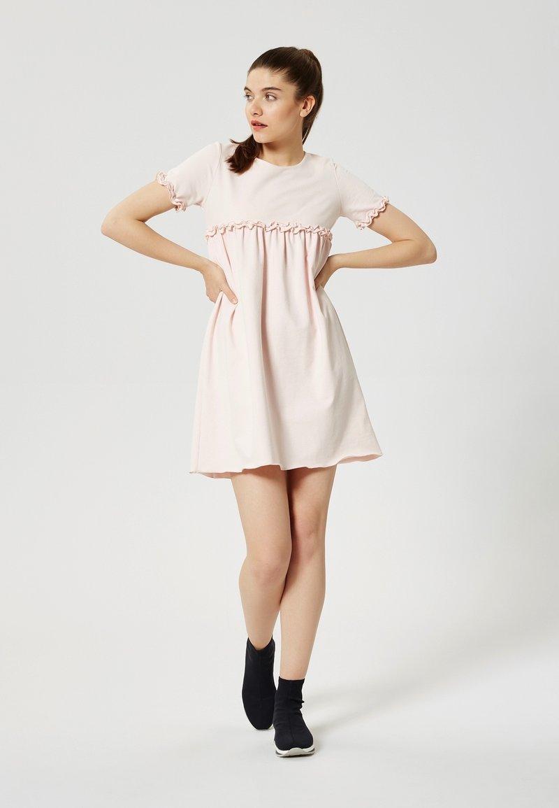 Talence - Jersey dress - rose pouding