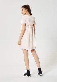 Talence - Jersey dress - rose pouding - 2