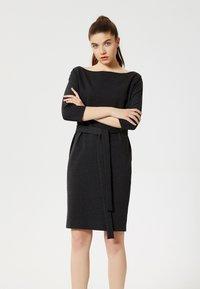Talence - Jersey dress - grey - 0