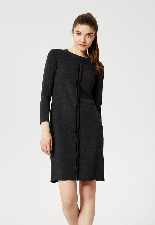 Jersey dress - graphite