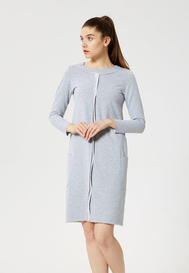 Jersey dress - gris mélangé