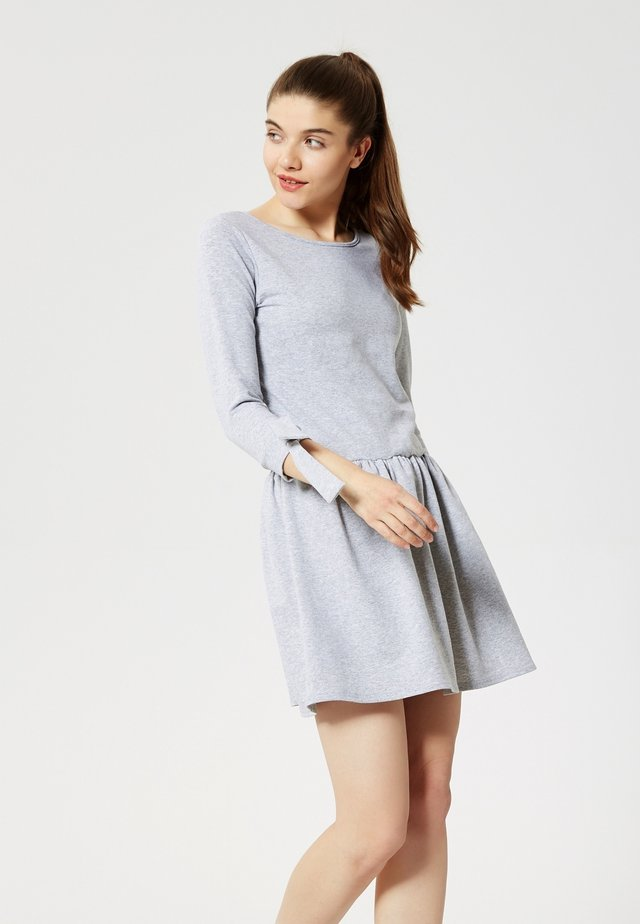 ROBE - Jersey dress - gris mélangé