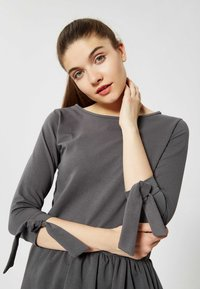 Talence - ROBE - Jersey dress - graphite - 3