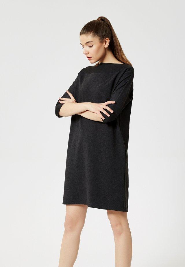 ROBE - Jersey dress - grey